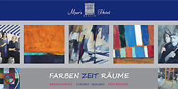 Pictures of the exhibition Farben Zeit Räume